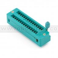 ZIF Socket 28-Pin 0.3''' (Narrow pitch)