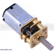 2213 - 50:1 Micro Metal Gearmotor HP with Extended Motor Shaft