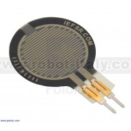 Force-Sensing Resistor: 0.6″-Diameter Circle, Short Tail