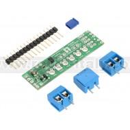 2511 - Pololu DRV8835 Dual Motor Driver Shield for Arduino