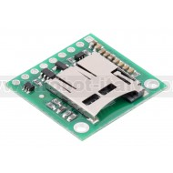 2587 - Breakout Board for microSD Card with 3.3V Regulator and Level Shifters