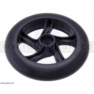 3281 - Scooter/Skate Wheel 144×29mm - Black