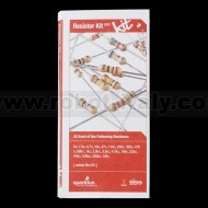 Resistor Kit 1/4W (500pcs)