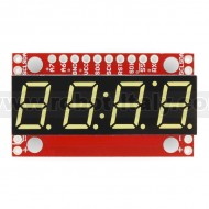 7-Segment Serial Display - White