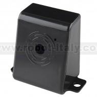 Raspberry Pi Camera Case - Black Plastic