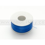 """Wire Wrap"" Thin Prototyping & Repair Wire - 200m 30AWG Blue"