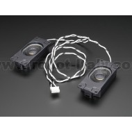 Stereo Enclosed Speaker Set - 3W 4 Ohm -