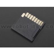 Shortening microSD card adapter for Raspberry Pi & Macbooks
