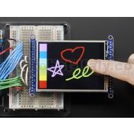 "2.8"" TFT LCD with Touchscreen Breakout Board w/MicroSD Socket"