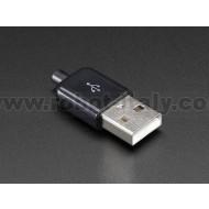 USB DIY Slim Connector Shell - A-M Plug