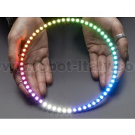 NeoPixel 1/4 60 Ring - 5050 RGBW LED w/ Integrated Drivers - Cool White - ~6000K