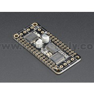DC Motor + Stepper FeatherWing Add-on For All Feather Boards
