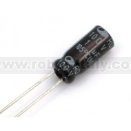Electrolytic Capactor 1µF 100V P=2.5 - 10Pcs