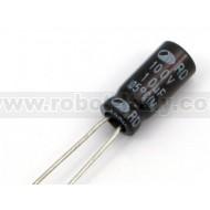 Electrolytic Capactor 10µF 100V P=2.5 - 10Pcs