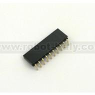 Female Strip 2,54 - 90°  - 10 pin