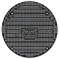 978 - Pololu 3pi Expansion Kit without cutouts - black