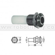 LED-HOLDER 5mm - Panel - Metal