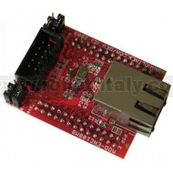 MOD-ENC624J600 DEVELOPMENT BOARD WITH UEXT CONNECTOR AND 100 MBI