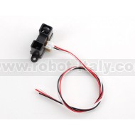 IR distance sensor includes cable (20cm-150cm) - GP2Y0A02YK