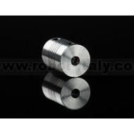 Aluminum Flex Shaft Coupler - 5mm to 5mm -