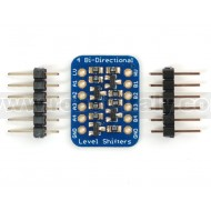4-channel I2C-safe Bi-directional Logic Level Converter - BSS138