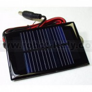 Solar Cell 94 X 61 mm with cable and plug