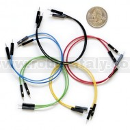 "Jumper Wires Premium M/M - 6"" 10pcs"