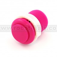 Arcade Push Button 33mm - convex - Pink