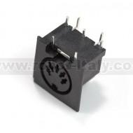 MIDI connector for PCB