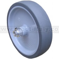 125mm diameter wheel with 8mm hub