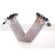 "Premium Female/Male 'Extension' Jumper Wires - 40 x 12"" (300mm)"