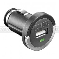 Compact USB car charger