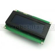 MuIn LCD 4x20 Blu- Multi Interface Display