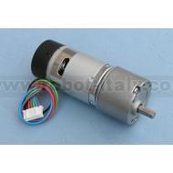 12V - 170RPM Gearmotor with encoder