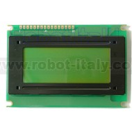 20x4 LCD Display - Green