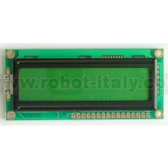 20x2 LCD Display - Green