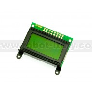 8x2 LCD Display - Green