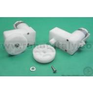 Gear Motor 2 - 224:1 Offset Shaft With Wheel