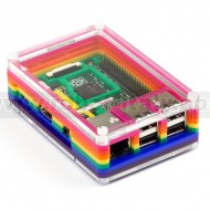 Pibow for Raspberry Pi (2 & B+) - Rainbow