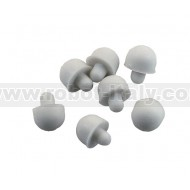RUBBER-FEETS-W - WHITE RUBBER FEETS (10 PCS)