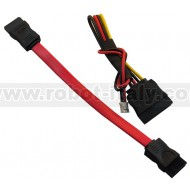 SATA-CABLE-SET - SATA DATA + SATA POWER CABLE