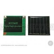 24 x 22mm Monocrystalline Solar Cell
