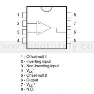 TL071CN - Operational Amplifier