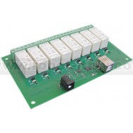 16Amp, 8 Channel USB Relay Module