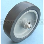 100mm diameter wheel with 5mm hub