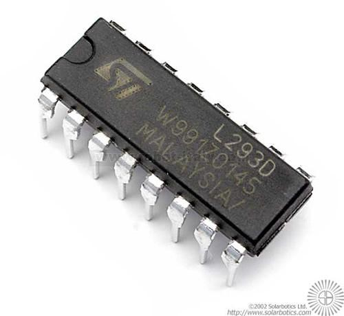 L293d Motor Driver From Vari For