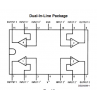 LM324N Quad Operational Amplifier