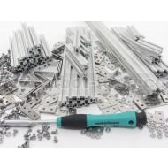 MakerBeam - Starter Kit Alluminio Anodizzato