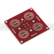 Button Pad 2x2 - Breakout PCB