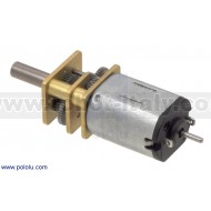 2381 - 100:1 Micro Metal Gearmotor MP with Extended Motor Shaft
